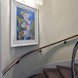 Hôtel Eugénie - Escalier