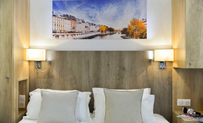 Hôtel Eugénie - Standard Double